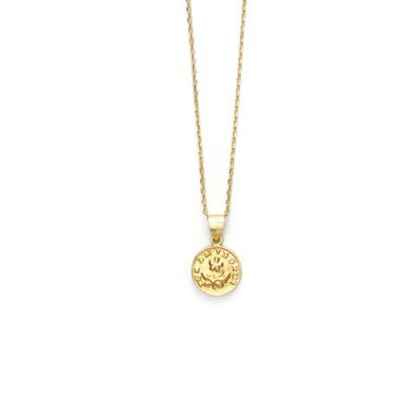 ANNI LU Forget Me Not Pendant