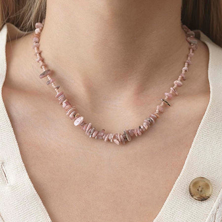 ANNI LU Halskjede |  Reef Necklace Seashell Pink