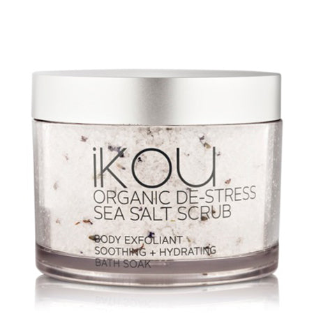 iKOU DE-STRESS ORGANIC SEA SALT SCRUB