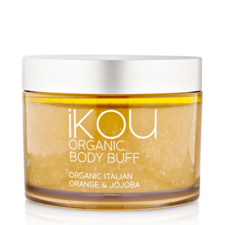 iKOU ITALIAN ORANGE & JOJOBA ORGANIC BODY BUFF