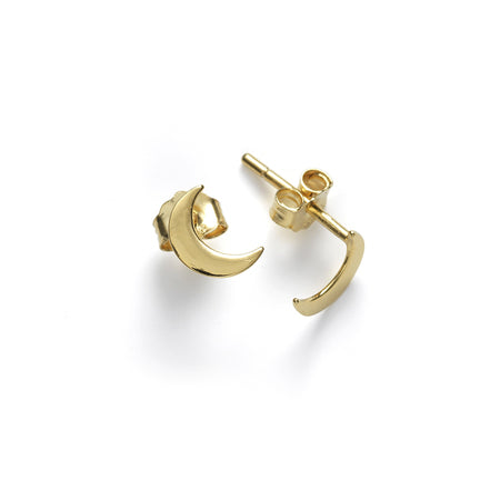 ANNI LU Moon Earrings Gold