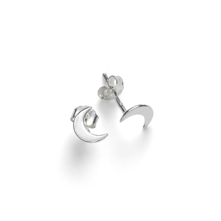 ANNI LU Moon Earrings Silver