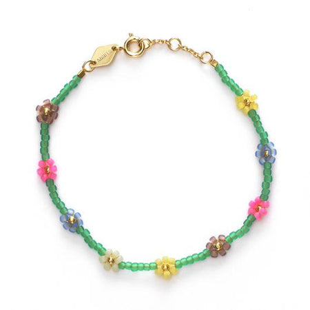 ANNI LU Petals Bracelet Green Lilly