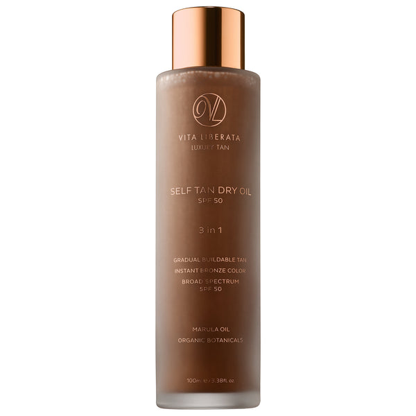 Vita Liberata Marula Dry Oil Self Tan SPF50 | Beth´s Beauty