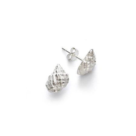 ANNI LU Conch Shell Earrings Silver
