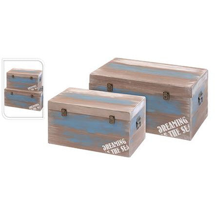 BOX MDF SET OF 2PCS KOP-326