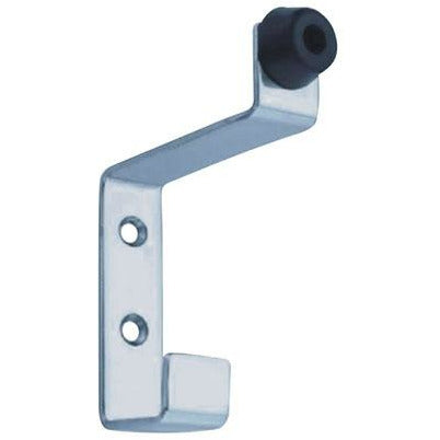 HAT AND COAT HOOK WITH RUBBER BUFFER EUR-071