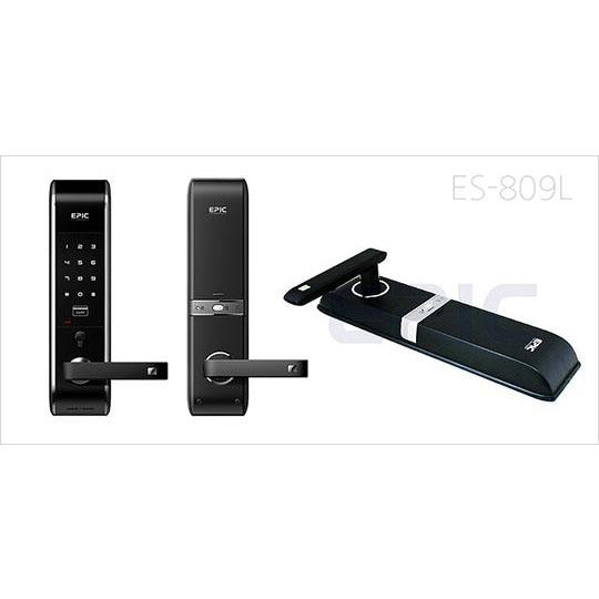Epic Digital Locks - 2 Way Pin Number +Rfid + Emergency key