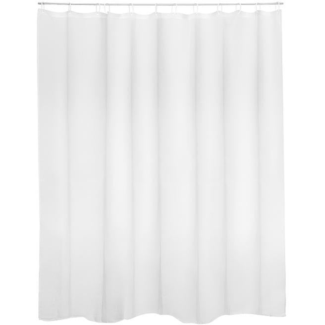 SHOWER CURTAIN 180X200 DAY BRAND POLYESTER WHITE HP-093