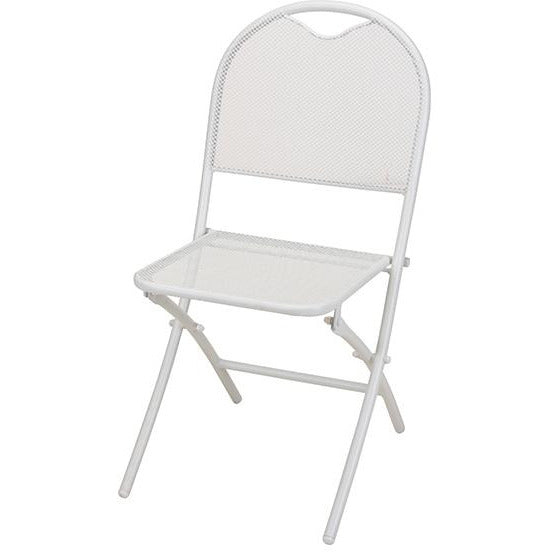 CHAIR FOLDING MESH MAT WHITE KOP-358