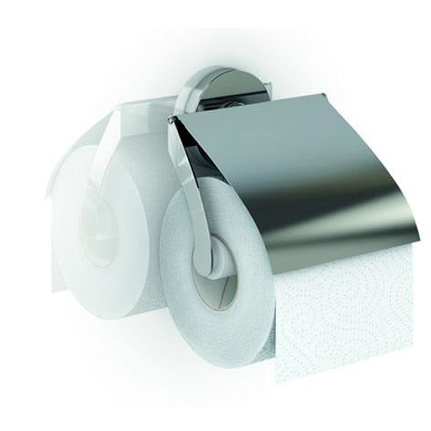 CARTAGO SERIES PAPER HOLDER ZINC - GEN-012