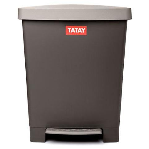 PEDAL DUST BIN CUBIK BROWN - TAT-462