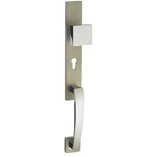 MAIN DOOR HANDLE SILVER PAS-013