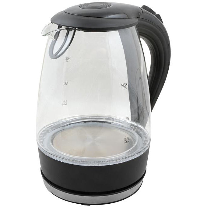 ELECTRIC WATER KETTLE 1.7L  DAY BRAND PLASTIC BLACK HP-116
