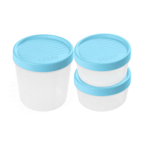 2+1 FOOD CONTAINER SET TWIST BLUE - TAT-580