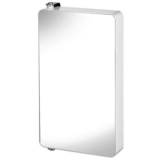 WHITE ARUN LARGE MIRROR CABINET CRY-028