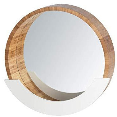 Wall Mirror with shelf Finja