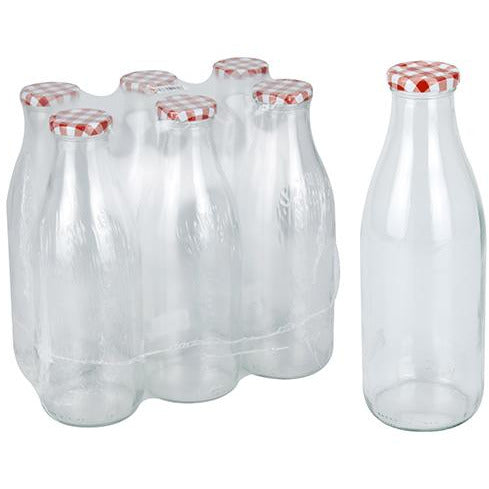 BOTTLE GLASS 1 LTR KOP-472