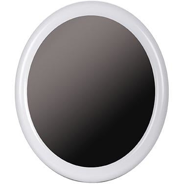 White Oval Mirror TAT-222