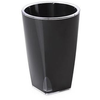 ACQUADEA POT D 12 , 11,5 BLACK WITH SELF WATERING SYSTEM OMA-239