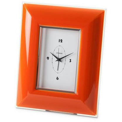 GLAMOUR WALL CLOCK - Round - Orange OMA-237