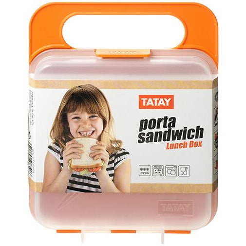 LUNCH BOX ORANGE TAT-051