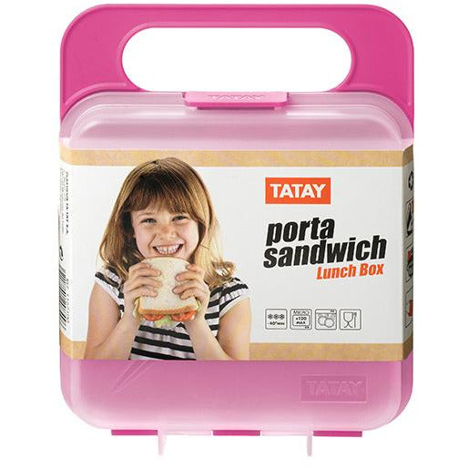 Pink Lunch Box TAT-050