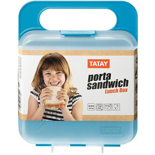 LUNCH BOX TURQUOISE TAT-048