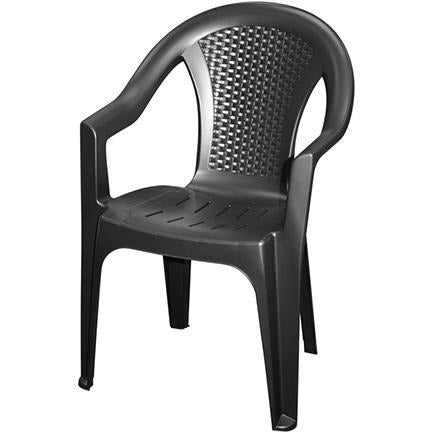 CHAIR ISCHIA PP BLACK MATT KOP-209