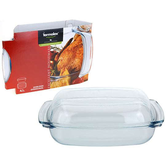 OVEN DISH WITH LID 41DL KOP-274