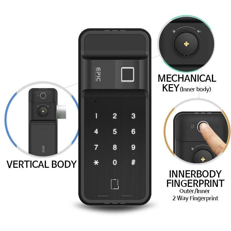 EPIC ES-FF730G Digital Door Lock