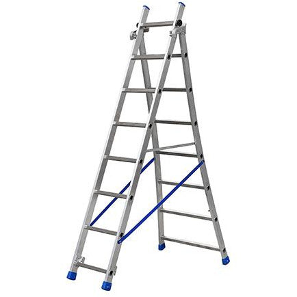 EXTENDING LADDER FLARED BASE 7+8 GIE-025