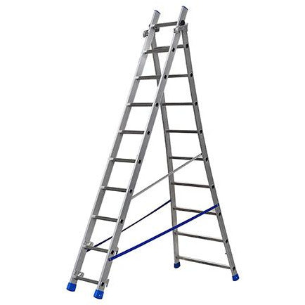 EXTENDING LADDER FLARED BASE 9+10 GIE-026