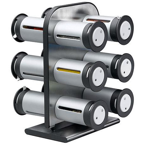 MAGNETIC SPICE RACK 11 CANISTER S/W - HON-061