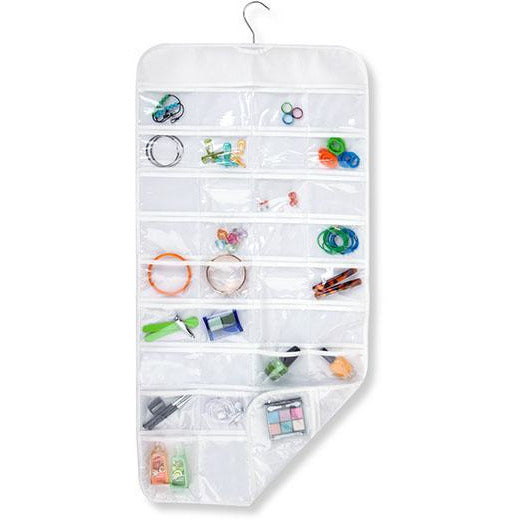 72 POCKET HANGING JEWELLY ORGINIZER - HON-065
