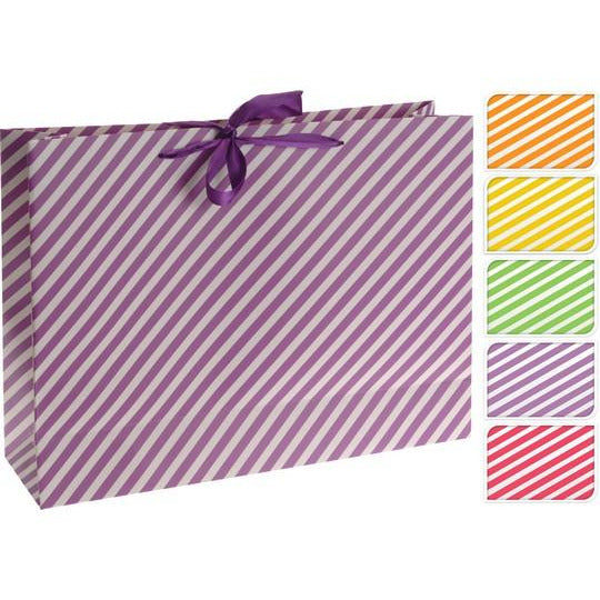 Paper Gift Bag Stripes