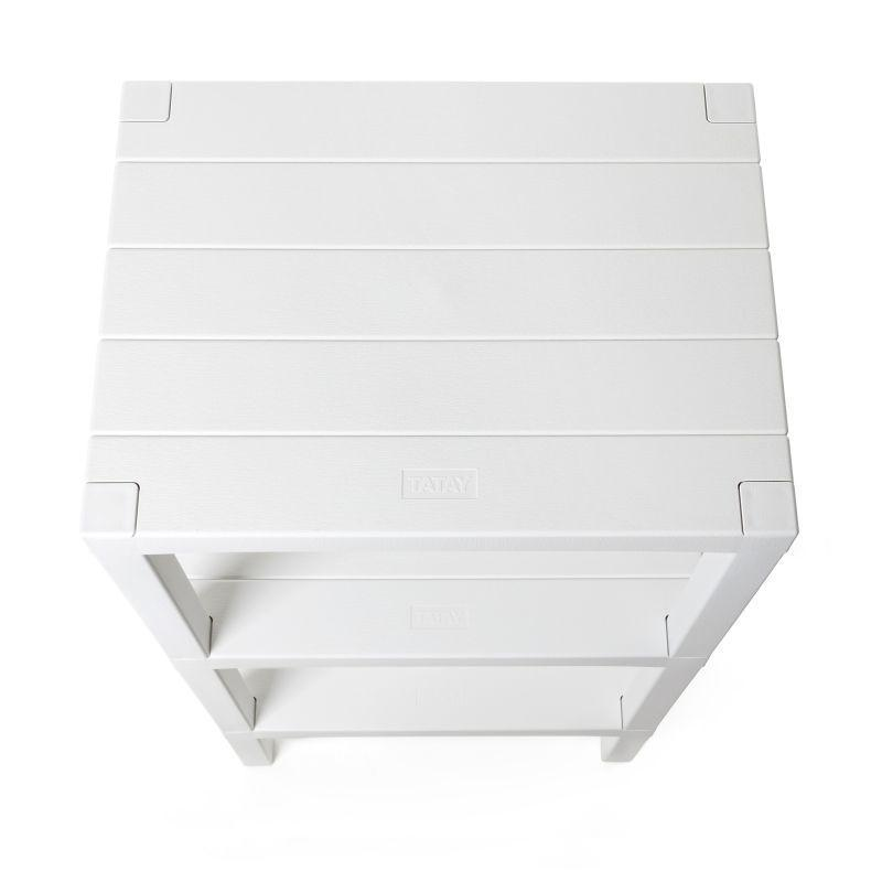 Deal 13 (Rectangular Rack Lombok 3 Levels, Bath Mat Nuvola White, Bathroom Pedal Bin 3L Milan)