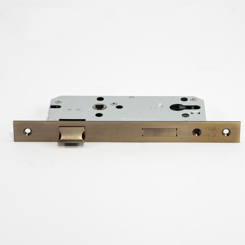 EUROART DIN Quality Mortise Lock 45mm Backset