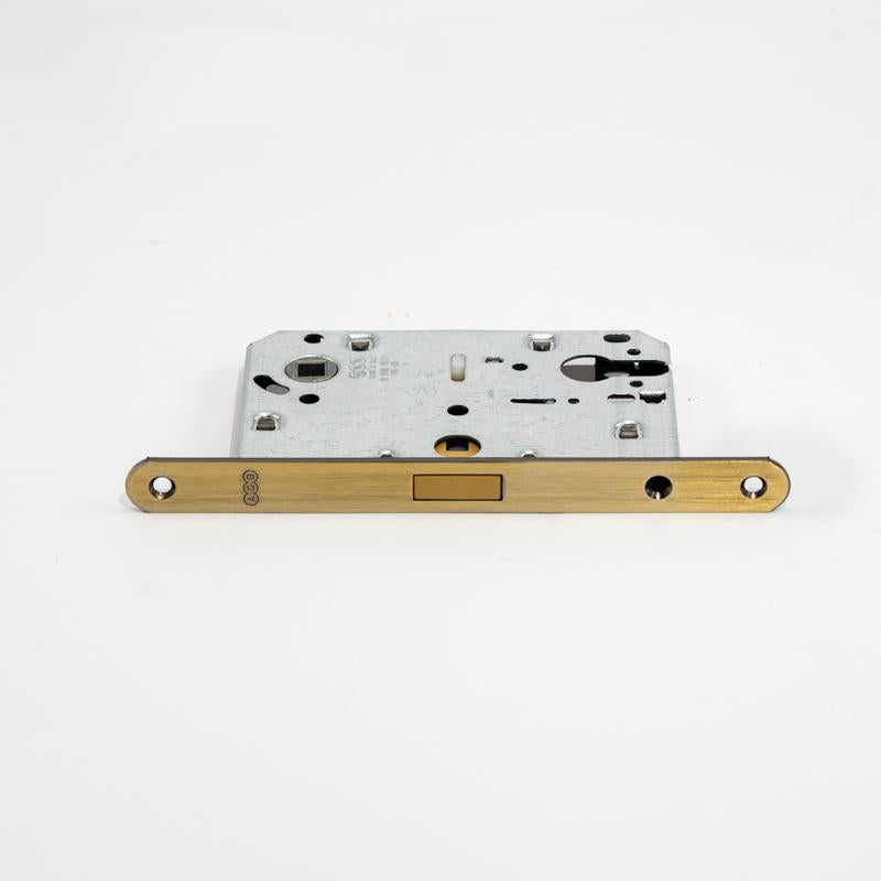 Magnetic Mortise Lock AB Finish