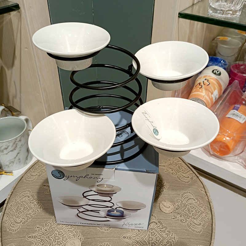 Tres Gourmet Centerpiece Set
