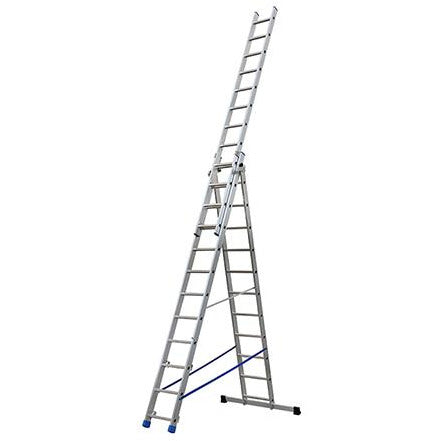 SECTION ALUMINIUM LADDER 3X12 RUNGS GIE-012