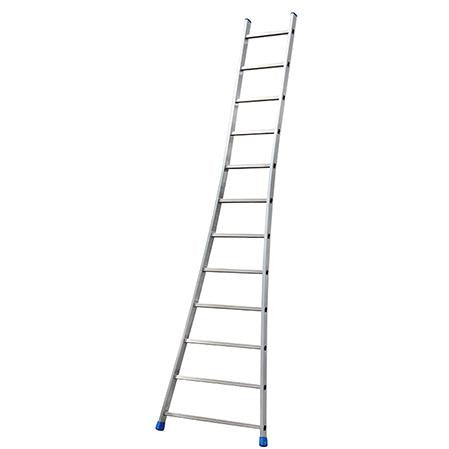 SINGLE ALUMINIUM FLARED BASE LADDER 12 STEP GIE-023