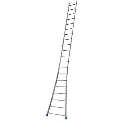 SINGLE ALUMINIUM FLARED BASE LADDER 20 STEP GIE-024
