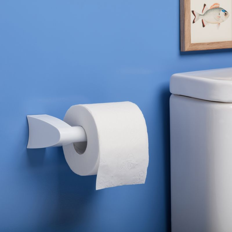 UNCOVERED TOILET PAPER HOLDER - SMART WHITE - TAT-621