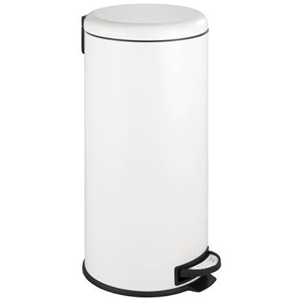 Pedal bin Leman Easy Close 30 l, white