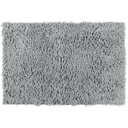 Bath mat Chenille, light grey