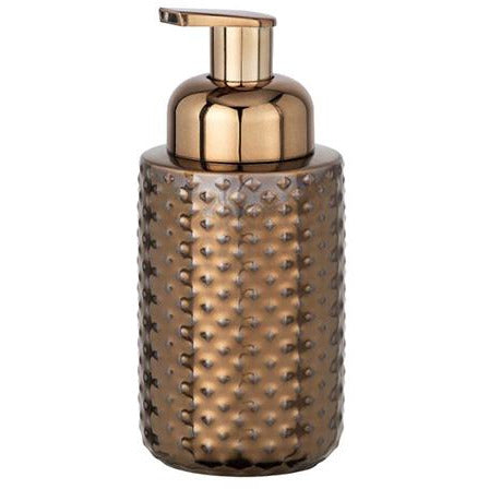 Ceramic Foam Soap Dispenser Keo, copper