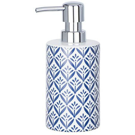 Ceramic Soap Dispenser Lorca, blue