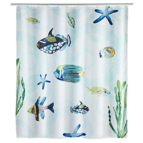 Polyester Shower Curtain Aquaria