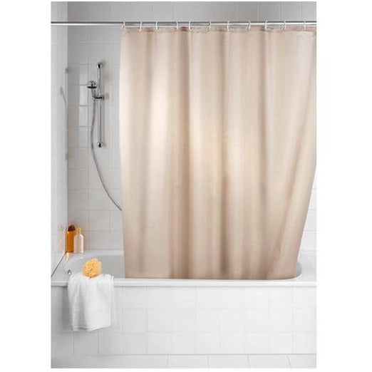 Anti-Mould Polyester Shower Curtain beige